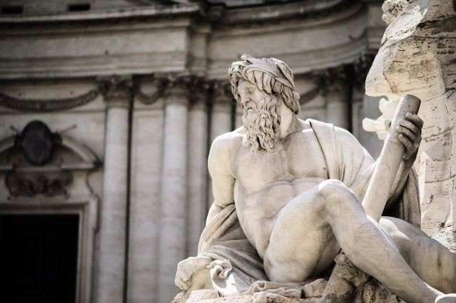 why classical statues have small penises
