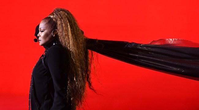 Janet Jackson Photoshopped Herself Into Top Billing For Glastonbury
