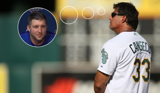 Jose Canseco Offered To Help Tim Tebow With Hitting Twitter Reactions
