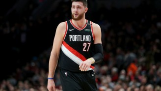 Blazers' Jusuf Nurkic Tells A+ Story About The Great Lengths Kobe Bryant Went To Trash-Talk Him