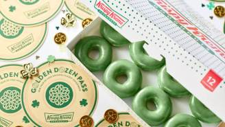 Here's How To Score Free Krispy Kreme Doughnuts For A Year In Celebration Of St. Patrick's Day