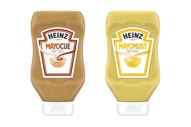 Mayomust Mayocue Sauces Heinz