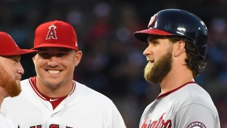 Mike Trout's Record-Breaking Contract Has The Internet Blowing Up With Bryce Harper, Phillies Jokes