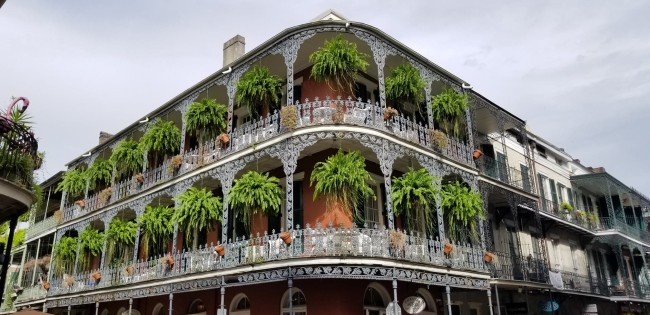 Tourist guide to New Orleans