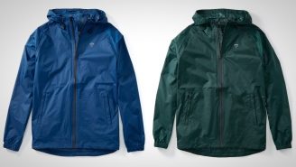 This Ultra-Lightweight And Affordable Rain Jacket In Bold Colors Is Perfect For Staying Dry This Spring
