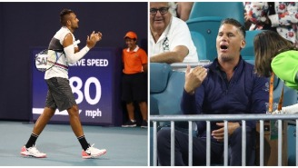 Tennis Bad Boy Nick Kyrgios Embarrasses Trash-Talking Fan In Front Of The Girl He Was With