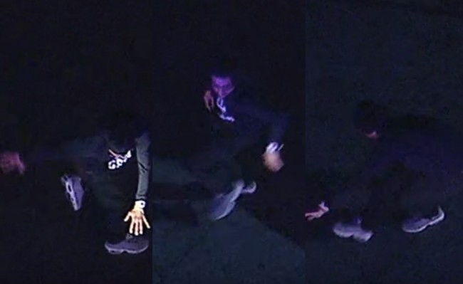 break dancing suspect high speed car chase los angeles