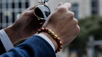 Step Up Your Suit Game With These Badass Beaded Bracelets For Dudes