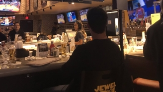 Buffalo Wild Wings Has A 'Jewel Stool' For Vasectomy Patients To Eat Wings And Drink Beer While Icing Their Boys During March Madness