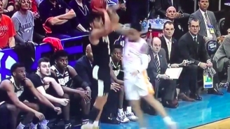 Tennessee Fans Are Not Pleased With The Controversial Foul Call That Saved Purdue's Season