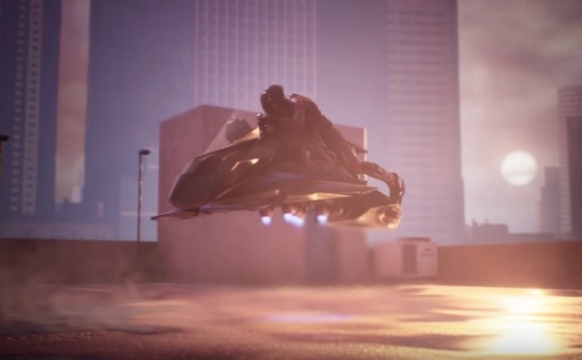 The Speeder World's First Flying Motorcycle