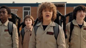 'Stranger Things' Actor May Star In New 'Ghostbusters' Movie