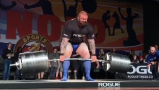 The Mountain Sets ANOTHER Unbelievable Deadlift World Record On Way To Winning Arnold Strongman Classic (Videos)