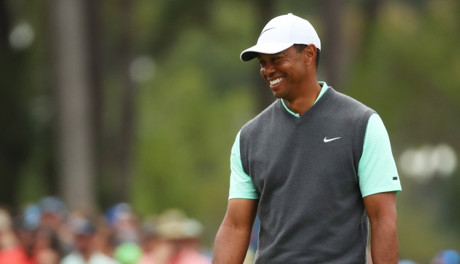 Tiger Woods Laughed When He Saw A Fan Wearing His Mugshot On A T-Shirt