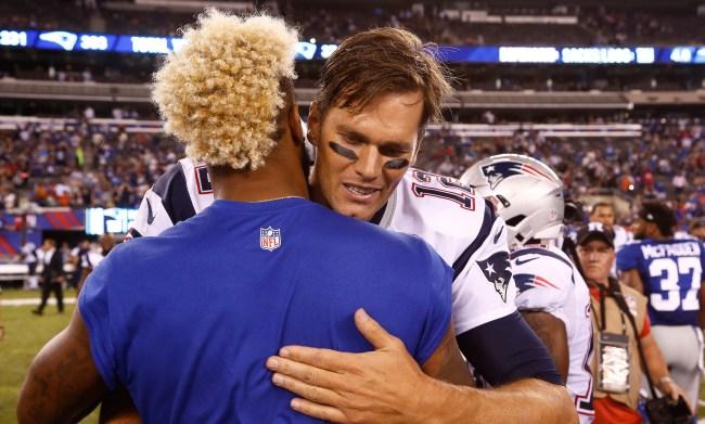 Tom Brady Invites Odell Beckham Jr To Come To Foxboro On Instagram