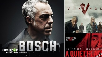 What's New On Amazon Prime Video In April: 'A Quiet Place, Mid90s, Bosch, Vikings, Human' And More