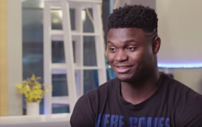 Zion Williamson duke players talk NBA greats