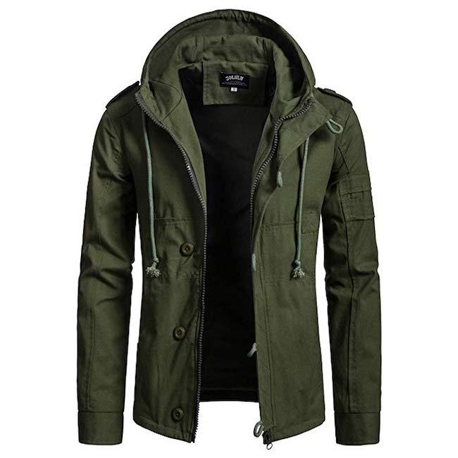 Zolulu Hooded Military Jacket