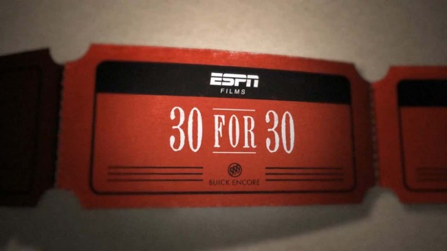 espn 30 for 30 early releases