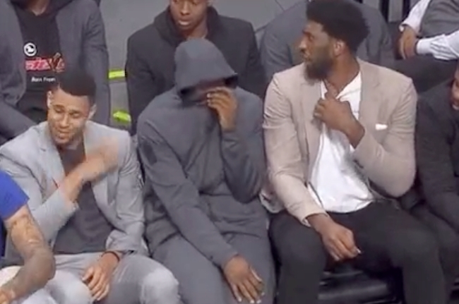 76ers bench fart