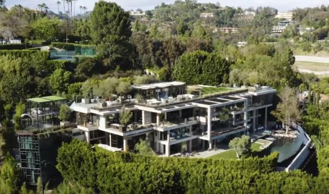 88 million Bel Air mansion 822 Sarbonne Road