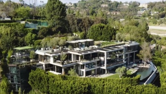 This Bel Air Mansion Worth $88 Million Has A Hidden Car Elevator And It's Proof That Money Buys Happiness