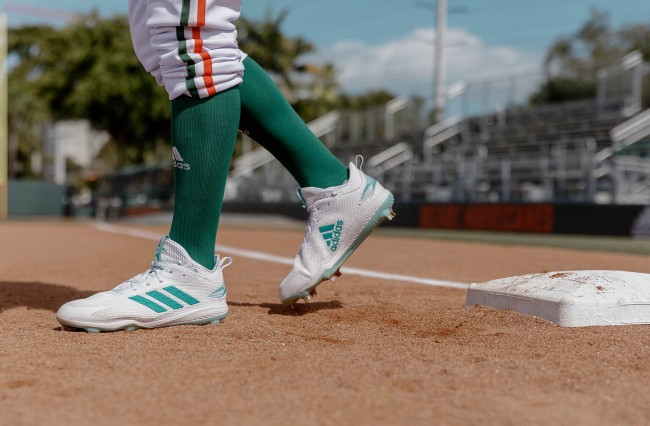 Adidas Parley University of Miami uniforms