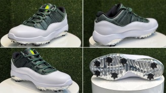 Want. Now. These Rare, Special Edition 2019 Air Jordan 11 Low 'Masters' Golf Shoes