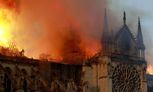 Almost 700 Million Already Raised To Rebuild Notre Dame Cathedral