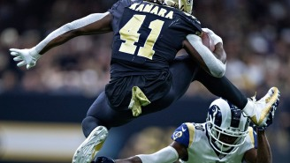 Alvin Kamara Is Once Again Showing What An Athletic Freak He Is With His Insane Offseason Training