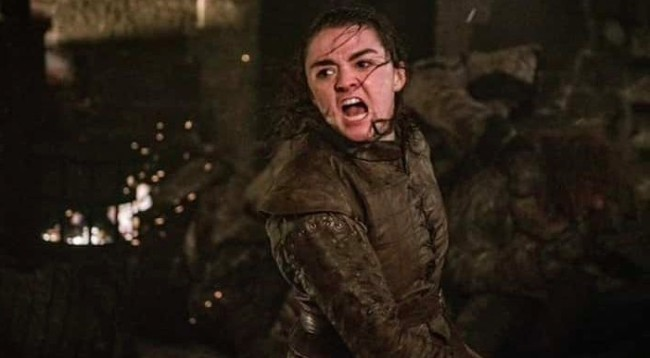maisie williams night kind reactions