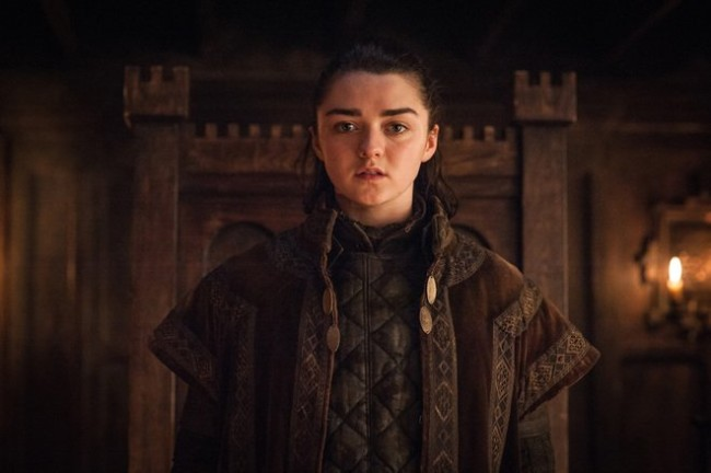 Arya Stark Faceless Disguise Battle of Winterfell Game of Thrones