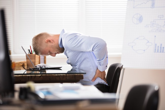 Lower Back Pain Desk Sitting