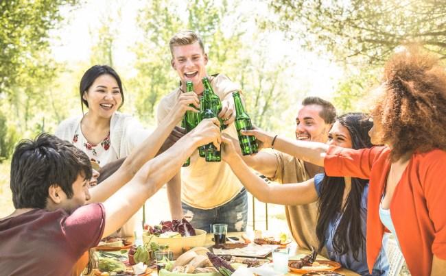 backyard binge drinking