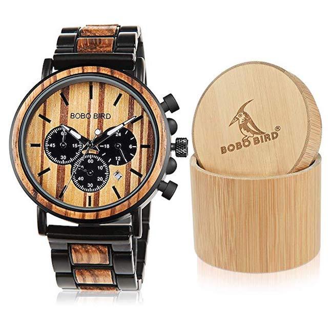 BOBO Bird Wooden Men's Watch
