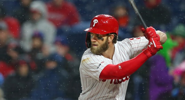 Bryce Harper Trains Before A Game And Why He Stays Off The Internet
