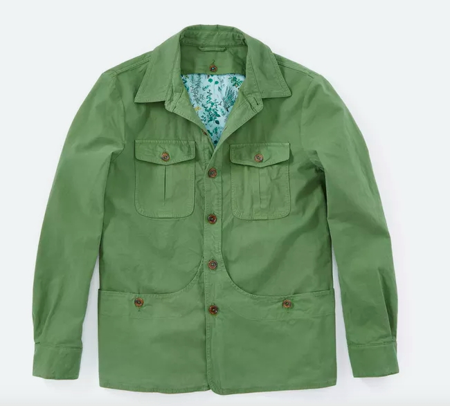 Canvas Shirt from Capalbio
