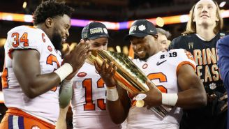 Clemson Couldn't Stop Itself From Trolling Alabama With These Absolutely Bonkers National Championship Rings