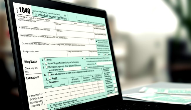 Congress About To Ban IRS From Letting You File Taxes Online For Free