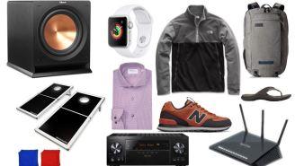 Daily Deals: Dress Shirts, Crocs, Speakers, Illuminated Cornhole Boards, New Balance Clearance, Nautica Sale And More!