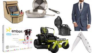 Daily Deals: Brooks Brothers Suits, Electric Ride-On Mowers, Kershaw Knives, 'Game Of Thrones' DVDs, Dockers Sale And More!