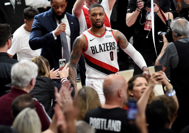 Damian Lillard takes one last shot at Paul George after game-winning shot to end first-round NBA Playoffs series