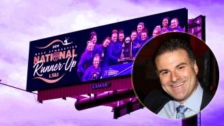 Darren Rovell Got Destroyed By The Internet For Mocking LSU Gymnastics' Congratulatory Billboard