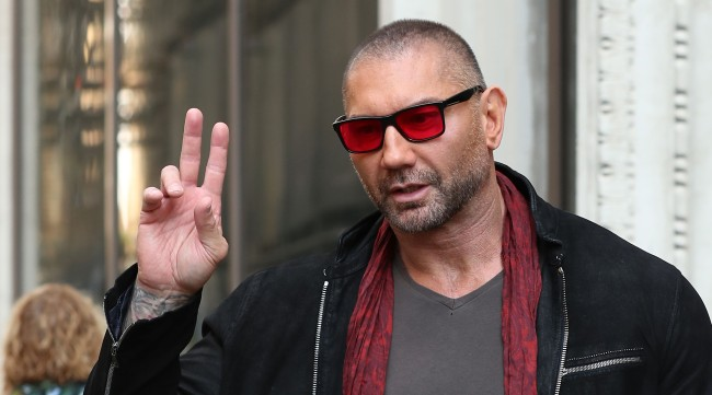 Dave Bautista Tripped Entering WrestleMania 35 Ring, Got Turned Into A Meme