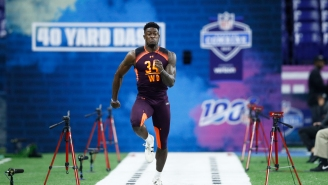 DK Metcalf Pulled Boss Move By Showing Up Shirtless To Pre-Draft Meeting With Seahawks, And Pete Carroll One-Upped Him
