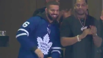 The Maple Leafs Are The Latest Team To Fall Victim To The 'Drake Curse' And Fans Are Not Happy With The Rapper