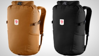 This Roll-Top Backpack From Fjällräven Expands Or Shrinks To Fit Your Needs And I Love It