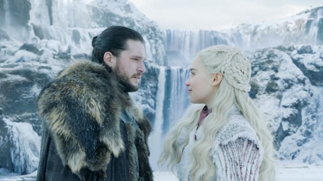 Game of Thrones Season 8 Jon Snow and Daenerys