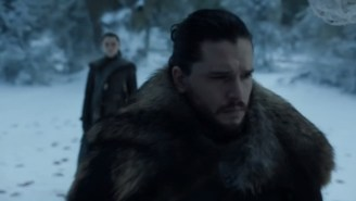 New 'Game Of Thrones' Trailer Shows Jon Snow And Arya Reunited For First Time Since Season 1, Dragons Fly Over Vegas