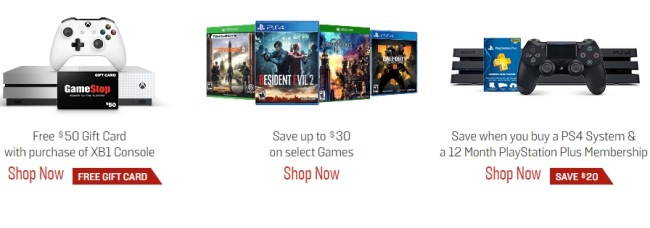 gamestop spring sale